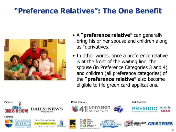 """Preference Relatives"": The One Benefit"