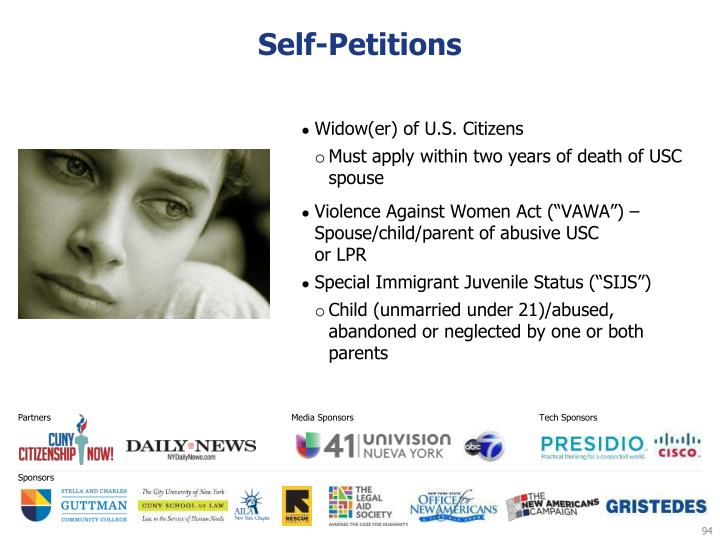Self-Petitions