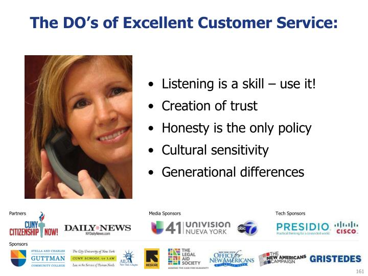 The DO's of Excellent Customer Service:
