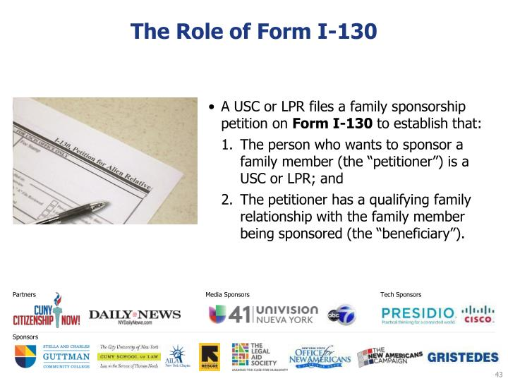 The Role of Form I-130