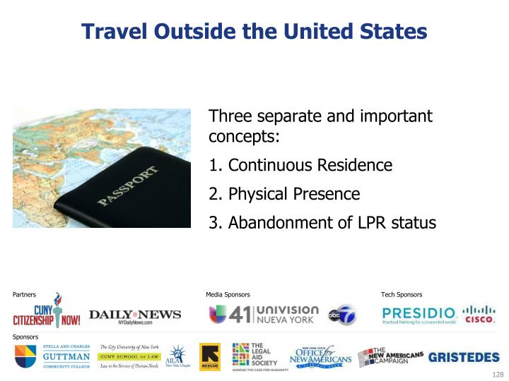 Travel Outside the United States
