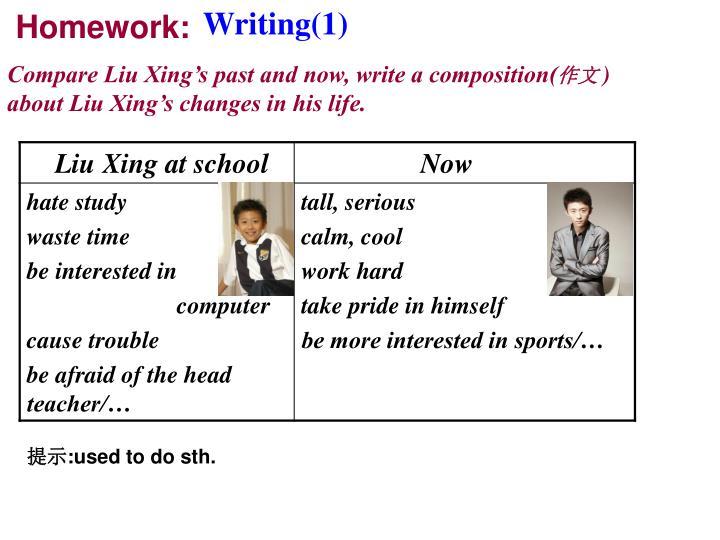 Writing(1)