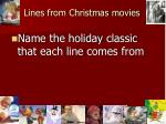lines from christmas movies