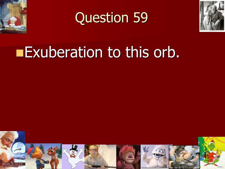 Question 59