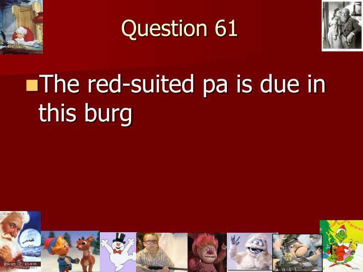 Question 61