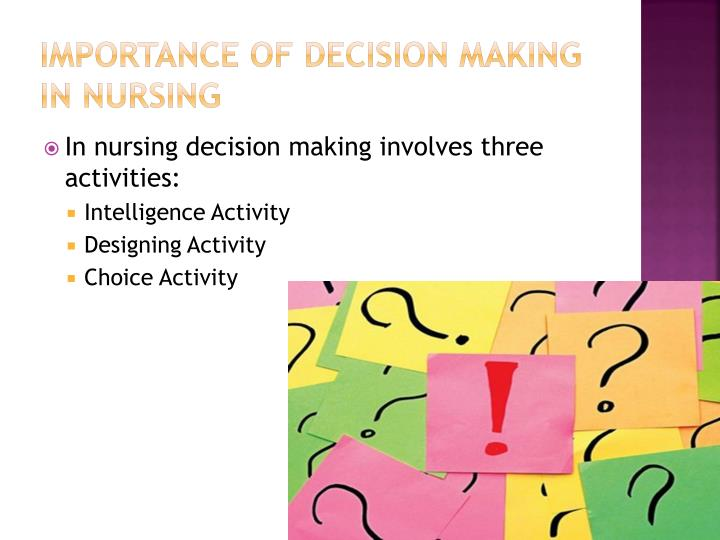 essay about making decisions in life Making the right choices essay 1951 words | 8 pages it may take many people to realize that the decisions they make today could possibly affect the outcome tomorrow and even later in life.
