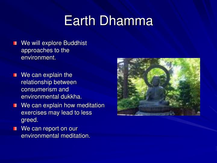Earth Dhamma