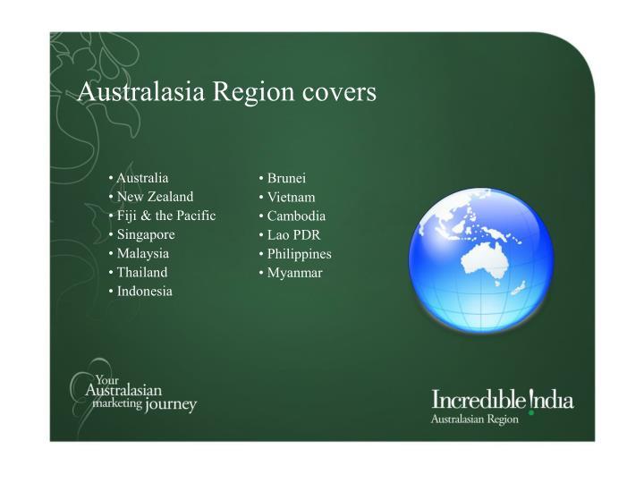 Australasia Region covers