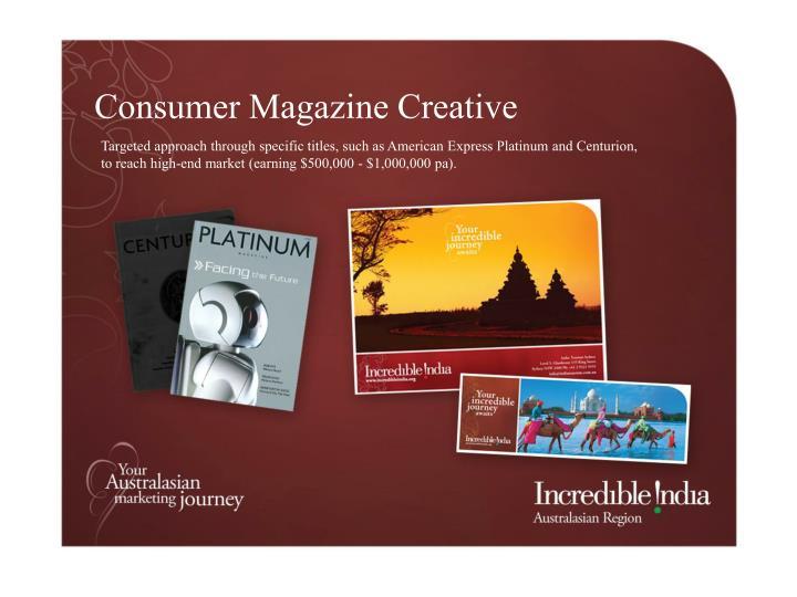 Consumer Magazine Creative
