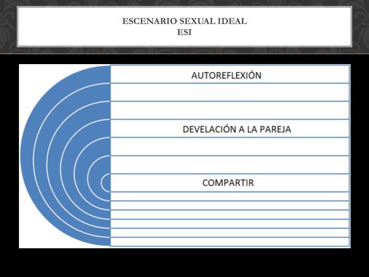 ESCENARIO SEXUAL IDEAL