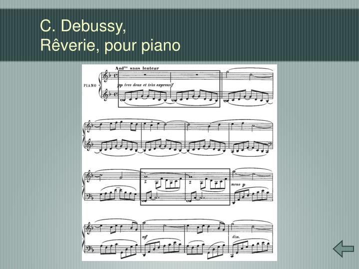 C. Debussy,