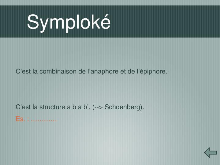 Symploké