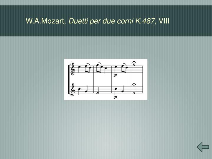W.A.Mozart,