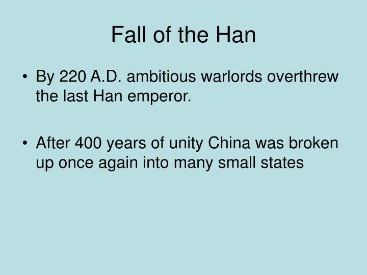 Fall of the Han