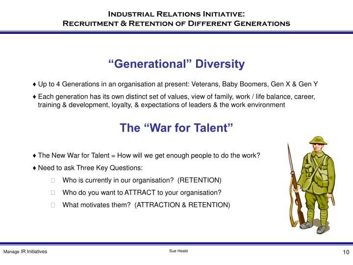 """Generational"" Diversity"