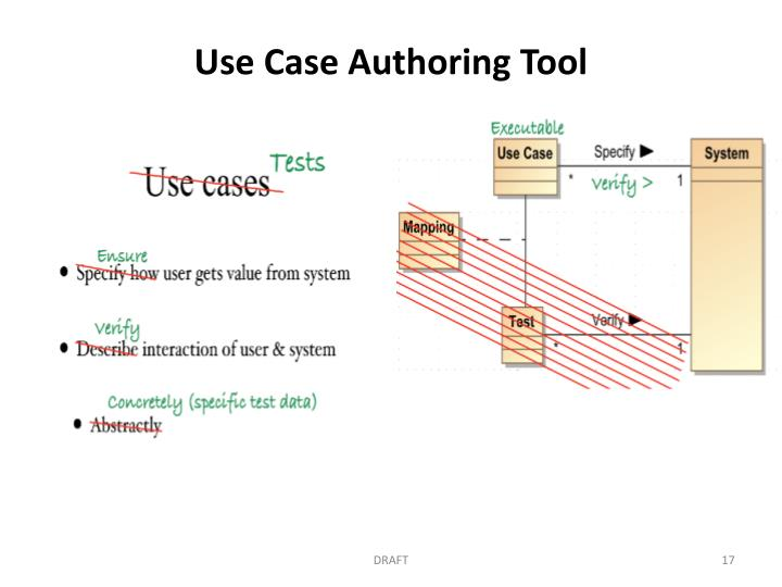Use Case Authoring Tool