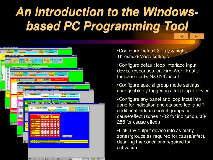 An Introduction to the Windows-based PC Programming Tool