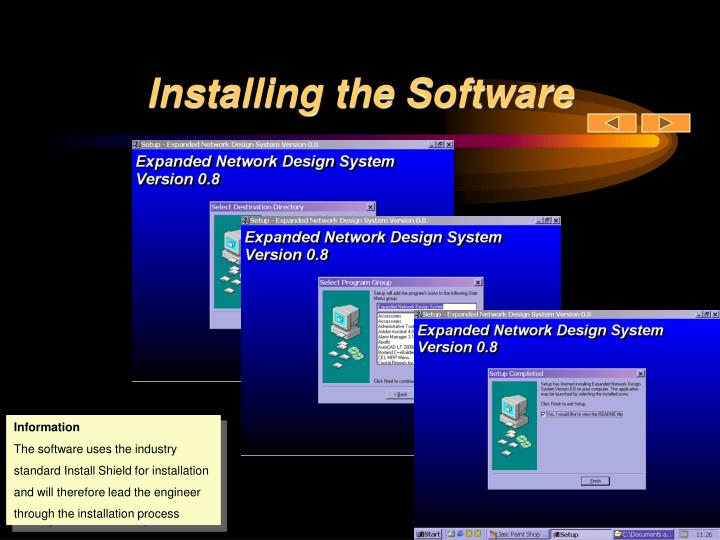 Installing the Software