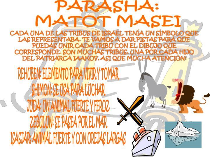 PARASHA: