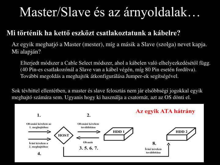 Master/Slave és az árnyoldalak…