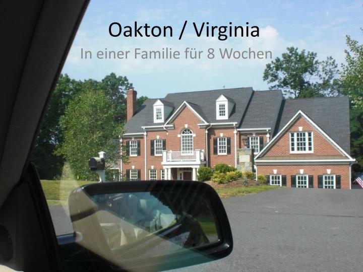 Oakton / Virginia