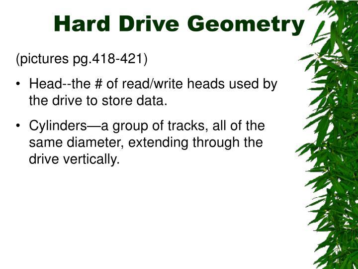 Hard Drive Geometry