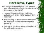 hard drive types