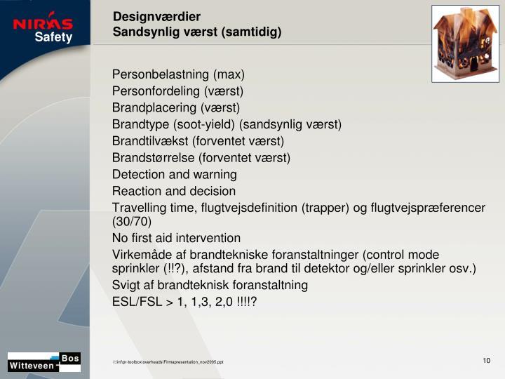 Designværdier