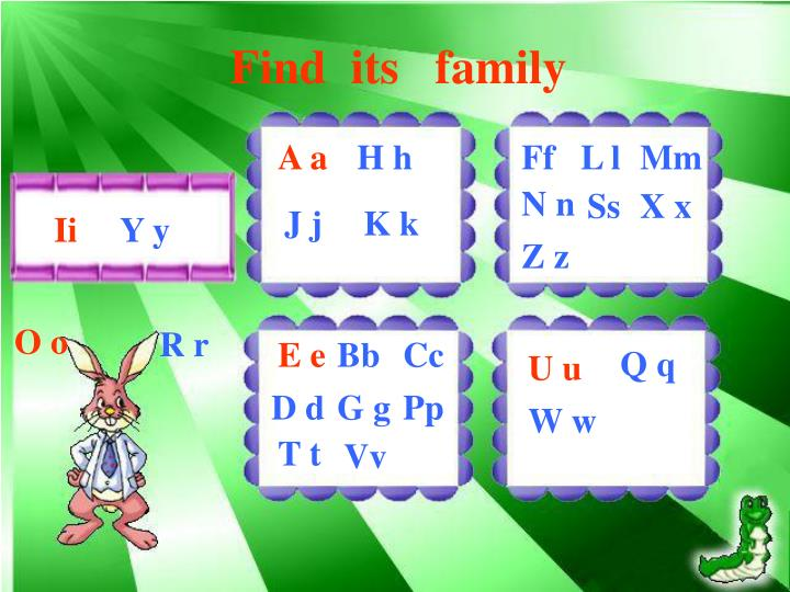 Find  its   family