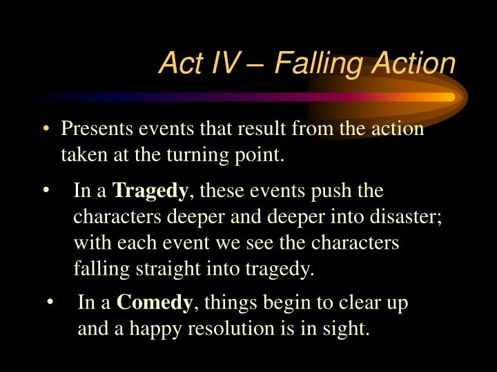 Act IV – Falling Action