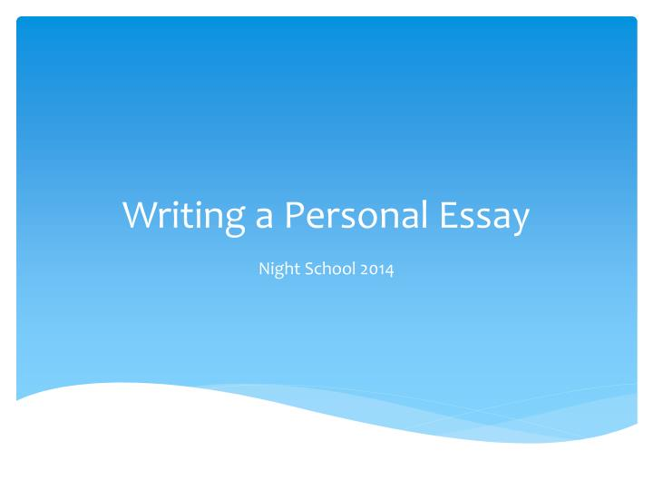 writing a thesis statement and powerpoint