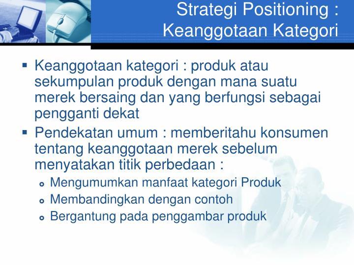 Strategi