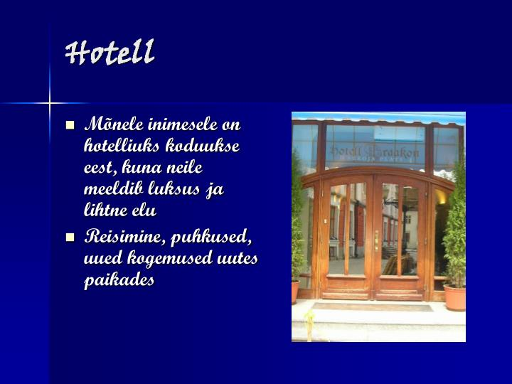 Hotell