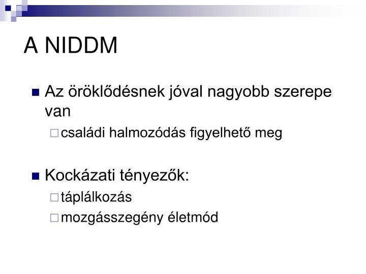 A NIDDM