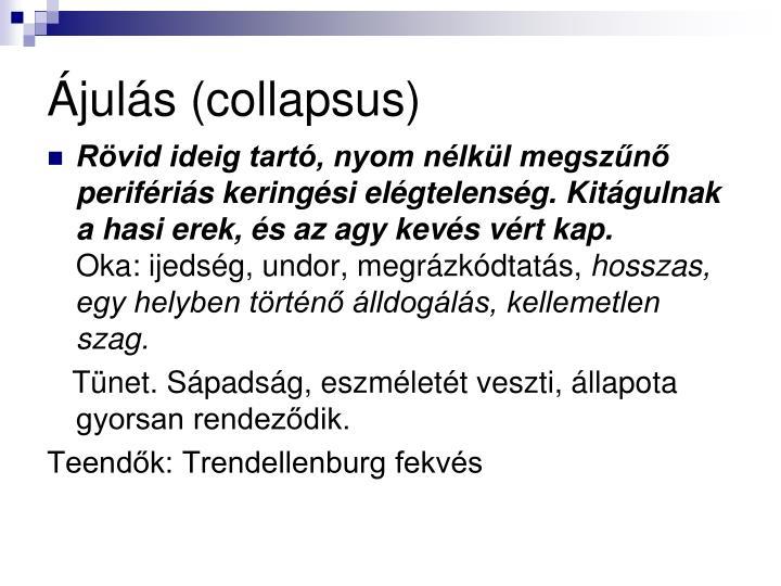 juls (collapsus)