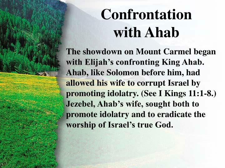 I. Confrontation with Ahab