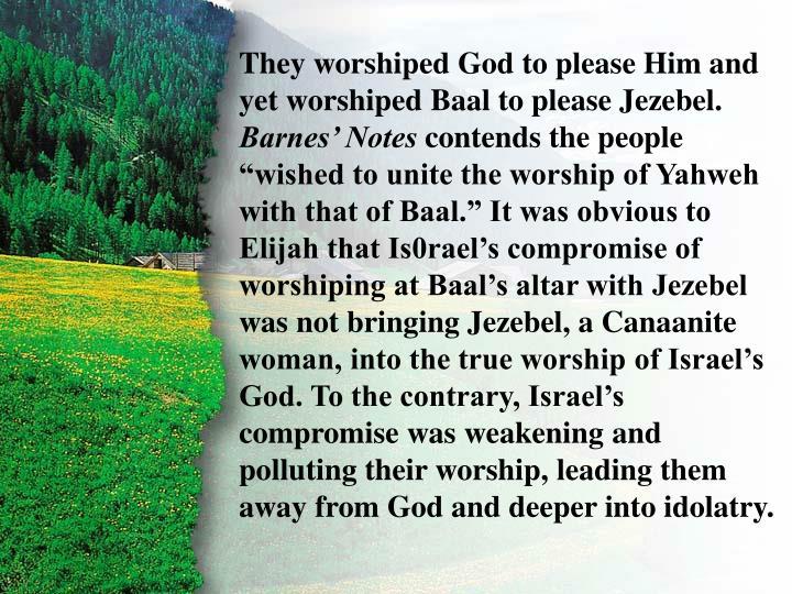 II. Challenge to Baal B