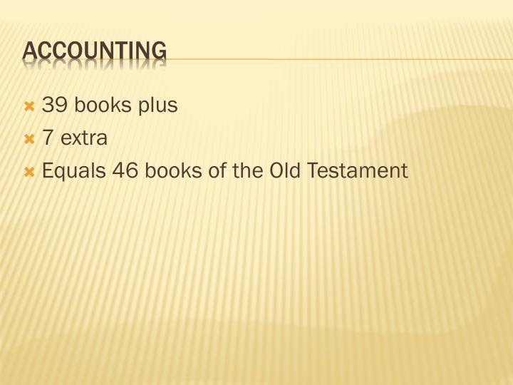 39 books plus