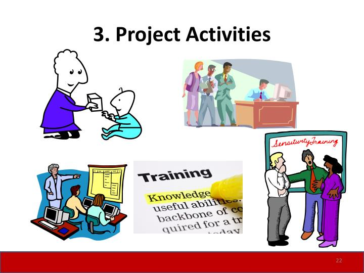 3. Project Activities