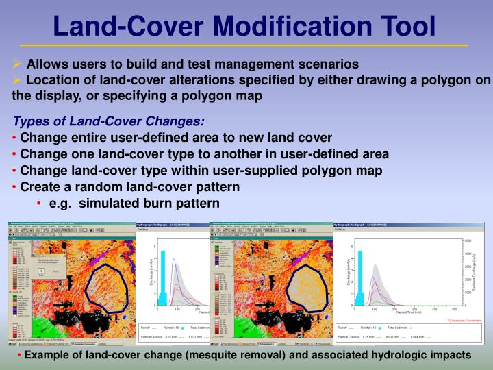 Land-Cover Modification Tool