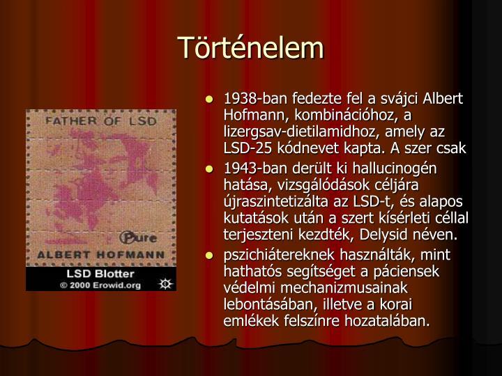 Albert Hoffmanrl elnevezett LSD blyegek