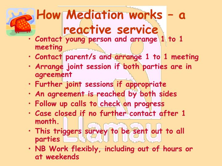 How Mediation works – a reactive service