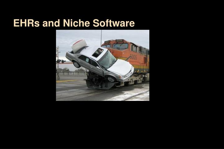 EHRs and Niche Software