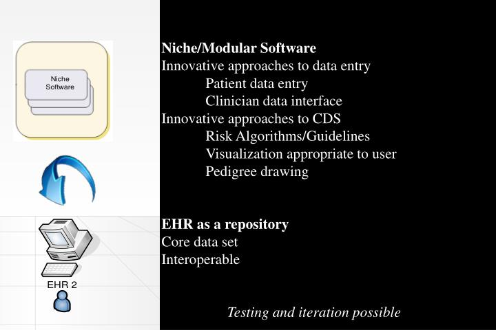 Niche/Modular Software