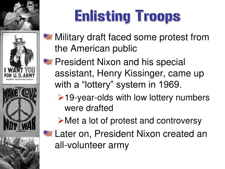Enlisting Troops