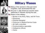 military women3
