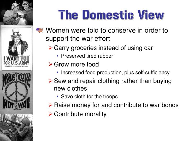 The Domestic View