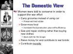 the domestic view1