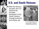 u s and south vietnam