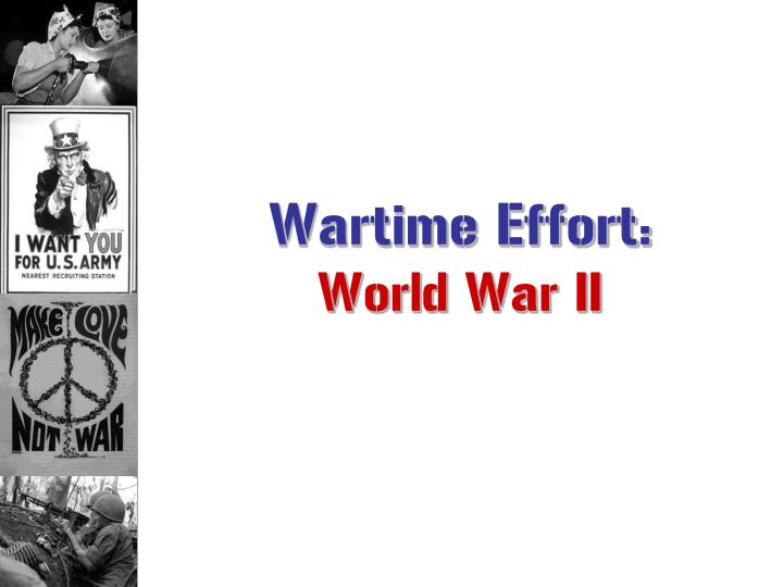 Wartime Effort: